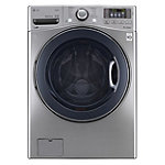 LG 4.3 Cu. Ft. Graphite Steel Steam Front-Load Washer 899.99