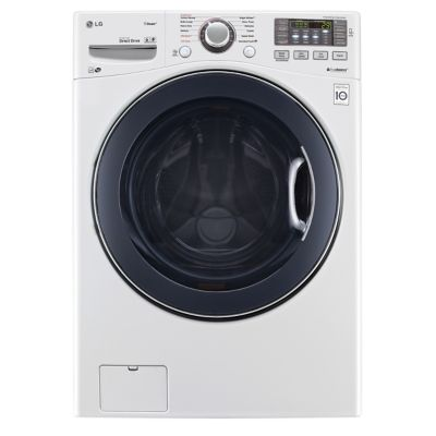 LG 4.3 Cu. Ft. Steam Front-Load Washer (Pedestal Sold Separately)