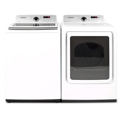 Samsung 4.2 Cu. Ft. High-Efficiency Top-Load Washer and 7.2 Cu. Ft. Electric Dryer