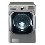 LG 5.2 Cu. Ft. Graphite Steel Steam Front-Load Washer (Pedestal Sold Separately) 1439.99
