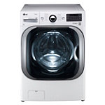 LG 5.2 Cu. Ft. Steam Front-Load Washer (Pedestal Sold Separately)