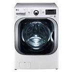 LG 5.2 Cu. Ft. Steam Front-Load Washer (Pedestal Sold Separately)