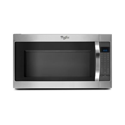 Whirlpool 2 Cu. Ft. 1,000-Watt Stainless Steel Over-the-Range Microwave
