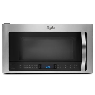 Whirlpool 1.9 Cu. Ft. 1,000-Watt Stainless Steel Convection Over-the-Range Microwave