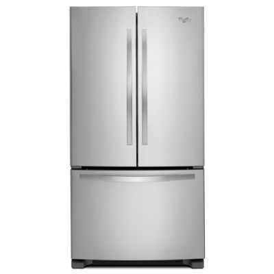 Special Buy! Whirlpool 25 Cu. Ft. Stainless Steel French Door Refrigerator