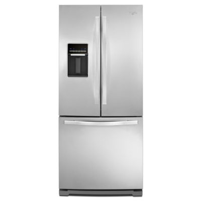 Whirlpool 19.6 Cu. Ft. Stainless Steel French Door Refrigerator