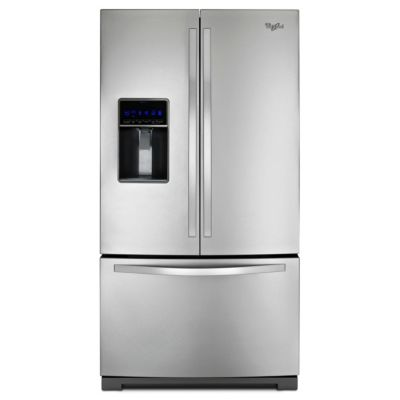 Whirlpool 24.7 Cu. Ft. Stainless Steel French Door Refrigerator