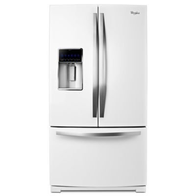 Whirlpool 26.8 Cu. Ft. White Ice French Door Refrigerator