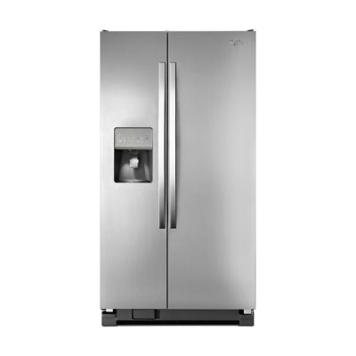 Special Buy! Whirlpool 25 Cu. Ft. Stainless Steel Side-by-Side Refrigerator