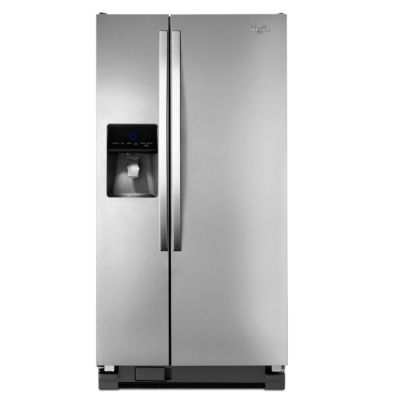 Whirlpool 22 Cu. Ft. Stainless Steel Side-by-Side Refrigerator