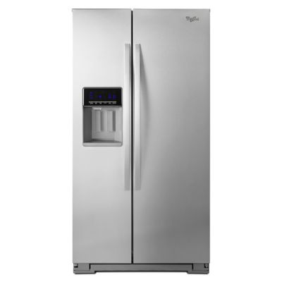Whirlpool 21 Cu. Ft. Stainless Steel Counter-Depth Side-by-Side Refrigerator