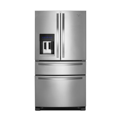 Whirlpool 24.5 Cu. Ft. Stainless Steel French Door 4-Door Refrigerator