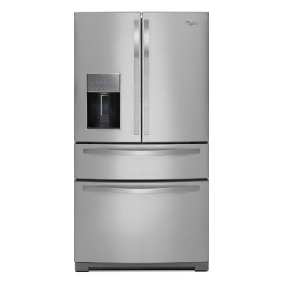 Whirlpool 26.2 Cu. Ft. Stainless Steel 4-Door Refrigerator