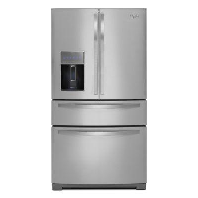 Whirlpool 28 Cu. Ft. Stainless Steel 4-Door Refrigerator