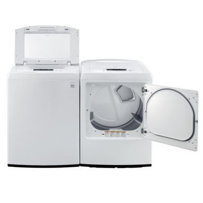 LG 4.3 Cu. Ft. High-Efficiency Top-Load Washer and 7.3 Cu. Ft. Electric Dryer
