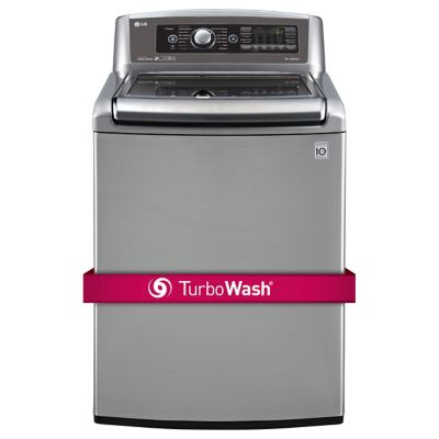 LG 5.2 Cu. Ft. Graphite Steel High-Efficiency Top-Load Washer