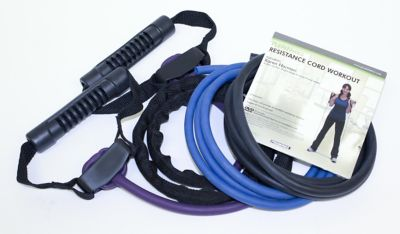 Trimax 6-Piece Zenzation Resistance Cord Kit