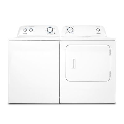 Amana 3.4 Cu. Ft. Top-Load Washer and 6.5 Cu. Ft. Electric Dryer