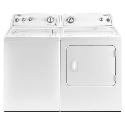 Whirlpool 3.4 Cu. Ft. Top-Load Washer and 7 Cu. Ft. Electric Dryer