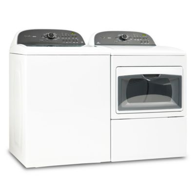 Whirlpool 3.8 Cu. Ft. Cabrio® HE Top-Load Washer and 7.4 Cu. Ft. Cabrio® Electric Dryer