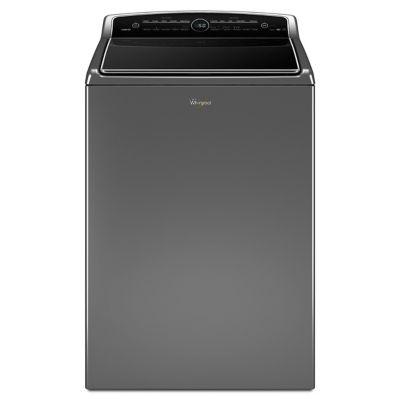 Whirlpool 5.3 Cu. Ft. Chrome Shadow Cabrio® High-Efficiency Steam Top-Load Washer