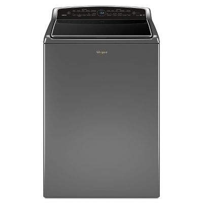 Whirlpool 5.3 Cu. Ft. Chrome Shadow Smart Cabrio® Top Load Washer