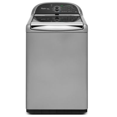 Whirlpool 4.8 Cu. Ft. Cabrio® Chrome Shadow High-Efficiency Top-Load Steam Washer