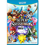 Nintendo Wii U Super Smash Bros 59.99
