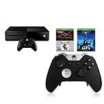 Microsoft Xbox One 1TB Gears of War: Ultimate Edition, Rare Replay, Bundle and Xbox One Elite Wireless Controller