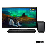 Sony 55' 4K Ultra HD 3D Smart TV with Soundbar and Wireless Subwoofer 1998.00