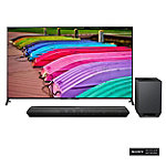 Sony 70' 4K Ultra HD 3D Smart TV with Soundbar and Wireless Subwoofer