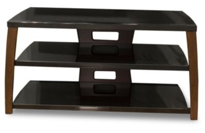 TechCraft Walnut Veneer Stand for Most 42