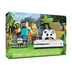 Microsoft Xbox One S 500GB Minecraft Favorites Bundle