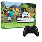 Save $10 on Microsoft Xbox One S 500GB Minecraft Favorites Bundle and Xbox One Wireless Controller