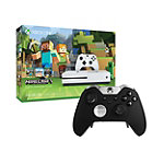 Save $10 on Microsoft Xbox One S 500GB Minecraft Favorites Bundle and Xbox One Elite Wireless Controller