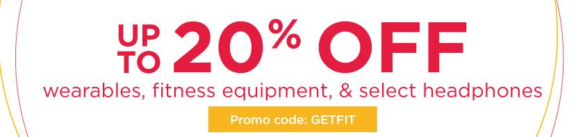 hhgregg Save 20% Off on Wearables, Fitness Equipment, and Headphones