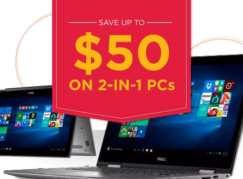 hhgregg Save up to $50 on 2-in-1 PCs
