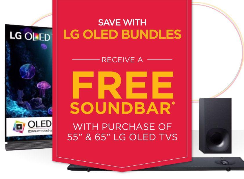 hhgregg LG OLED Bundles (Free Soundbar w/ Purchase of 55