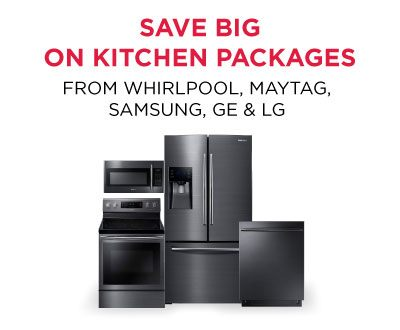 Save BIG on Kitchen Packages