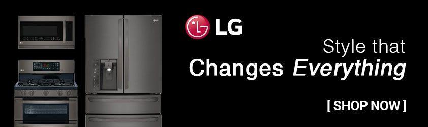 Save on LG Black Stainless Steel