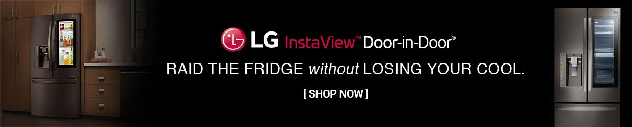 Save on LG InstaView Refrigerator