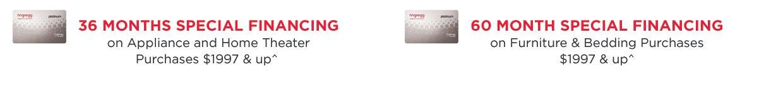 hhgregg special financing