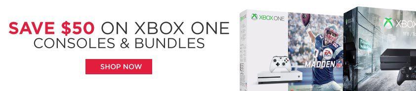 hhgregg $50 Off All Xbox One S Consoles