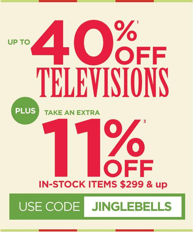 עד 40% הנחה על טלויזיות ברשת hhgregg