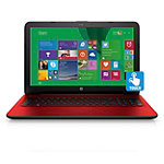 HP Touchscreen Laptop with AMD Quad-Core A6-6310 Processor