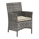 Zuo Modern Pinery Patio Dining Chairs Set of 2