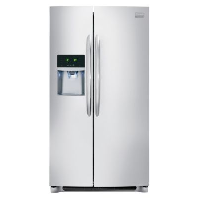 Frigidaire 26 Cu. Ft. Stainless Steel Side-by-Side Refrigerator