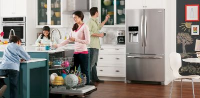 ordinary Hhgregg Appliances Home Kitchen #1: family in a kitchen