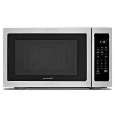 KitchenAid 1.5 Cu. Ft. 1200-Watt Stainless Steel Convection Countertop Microwave Oven