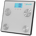 Pyle Gray Bluetooth Digital Weight and Personal Health Scale With Wireless Smartphone Data Transfer